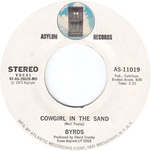 Byrds -  Cowgirl in the Sand