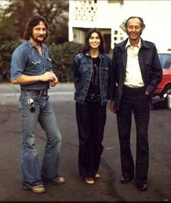 Gene, Emmylou & Eddie Tickner