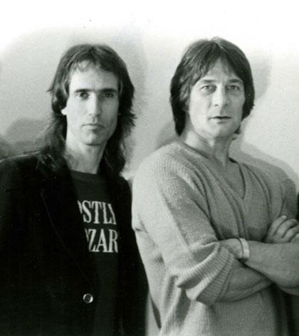 Gene with John York