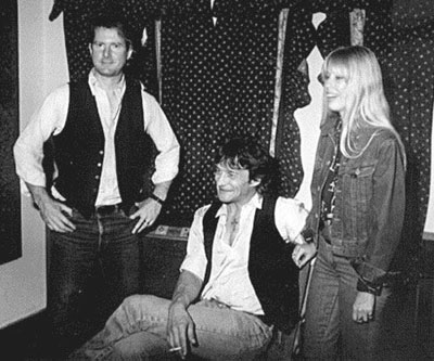 Gene with Roger McGuinn and Carla Olson