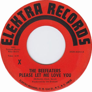 The Beefeaters ‎– Please Let Me Love You
