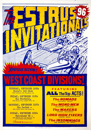 Poster of The 1996 Estrus Invitationals West Coast Division