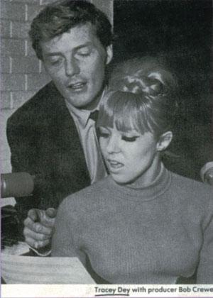 Tracey Dey with Bob Crewe