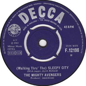 Mighty Avenges - (Walkin'- Thru The) Sleepy City