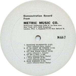 Jackie DeShannon - Metric
