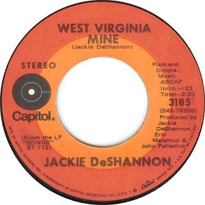 Jackie DeShannon - West Virginia Mine
