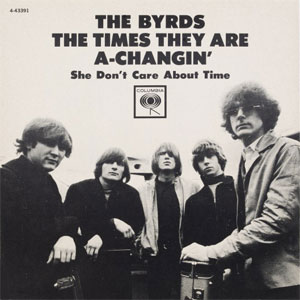 The Byrds ‎– The Times They Are A'Changin'