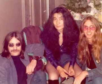 Frank Secich and Yoko Ono