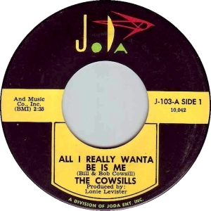 The Cowsills - All I Really Wanta Be Is Me