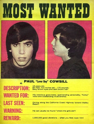 Paul Cowsill - Wanted