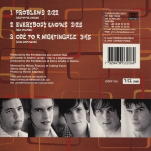 Pendletones - Problems (back)