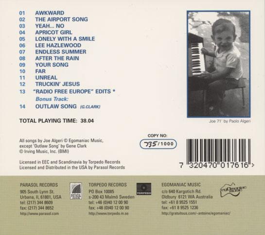 Joe Algeri - Everything Under The Sun