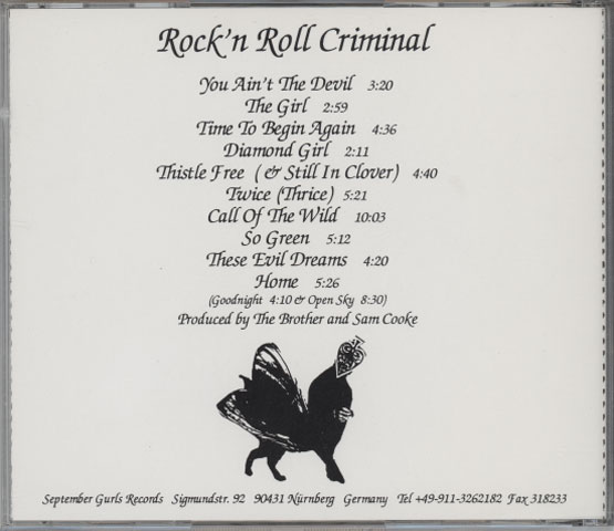 Brother Love And The Homebacon Gang – Rock'n Roll Criminal