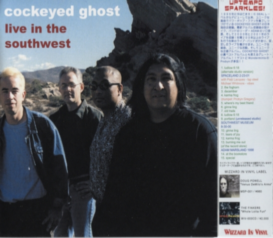 Cockeyed Ghost – Live In The Southwest