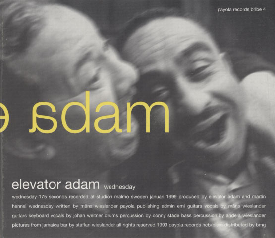 Elevator Adam – Wednesday