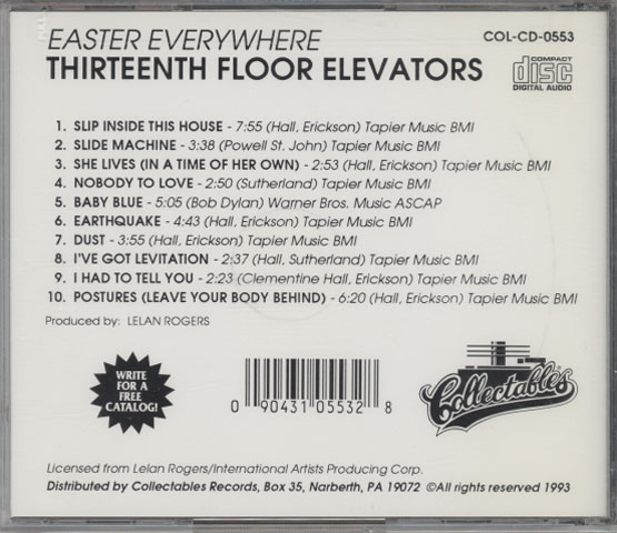 Thirteenth Floor Elevators - Easter Everywhere