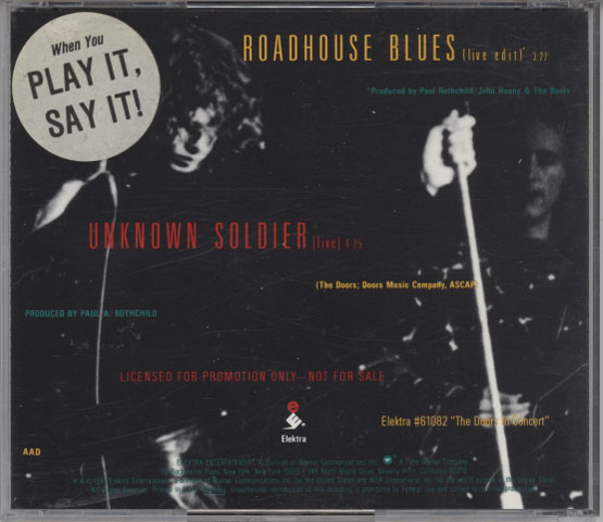 Doors – Roadhouse Blues / Unknown Soldier