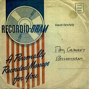 Ray Carmen - Recordiogram