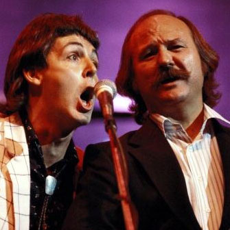 Paul McCartney and Sonny Curtis