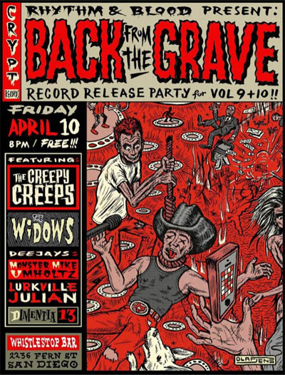 Back From The Grave - release party