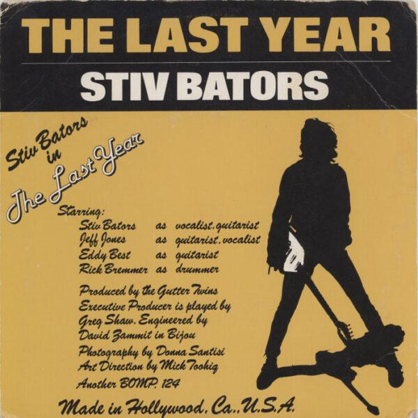 Stiv Bators – It's Cold Outside