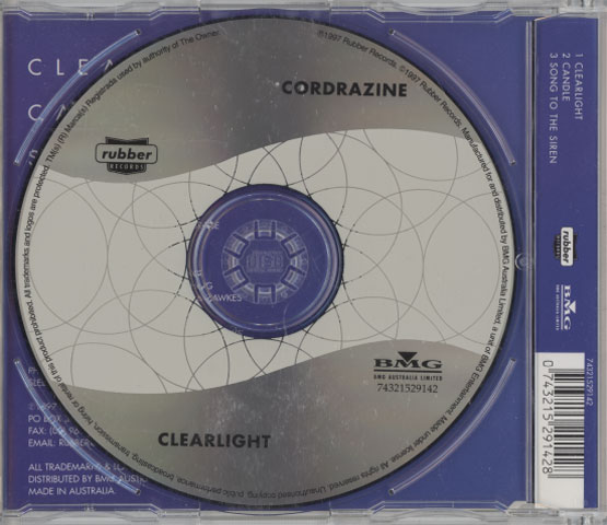 Cordrazine – Clearlight