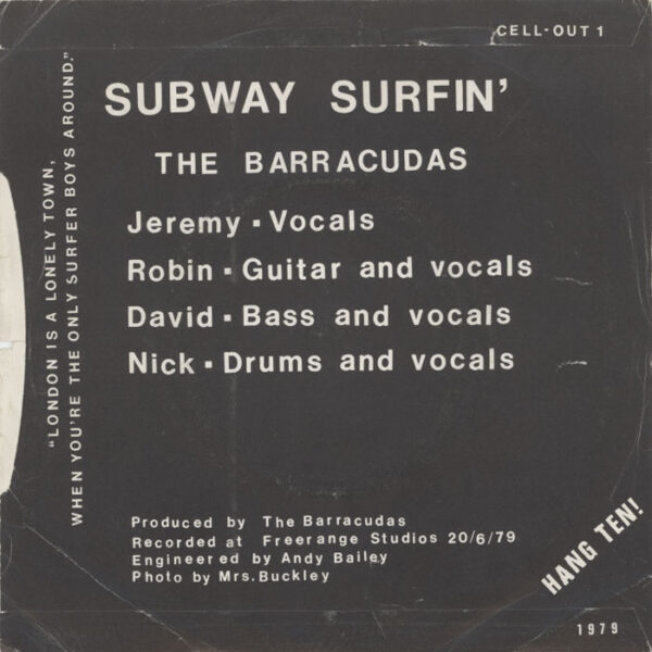 Barracudas – I Want My Woody Back