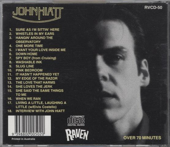 John Hiatt – Living A Little, Laughing A Little