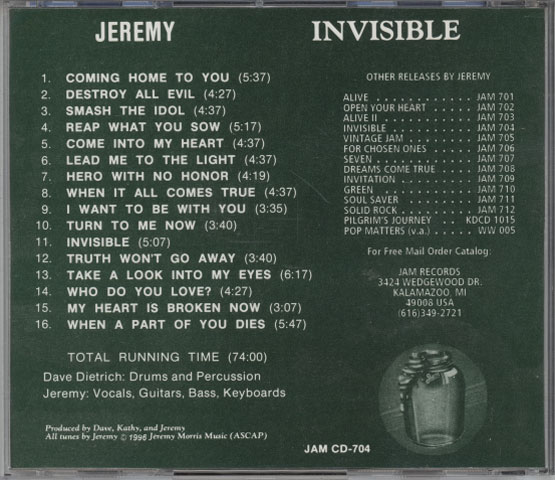 Jeremy – Invisible