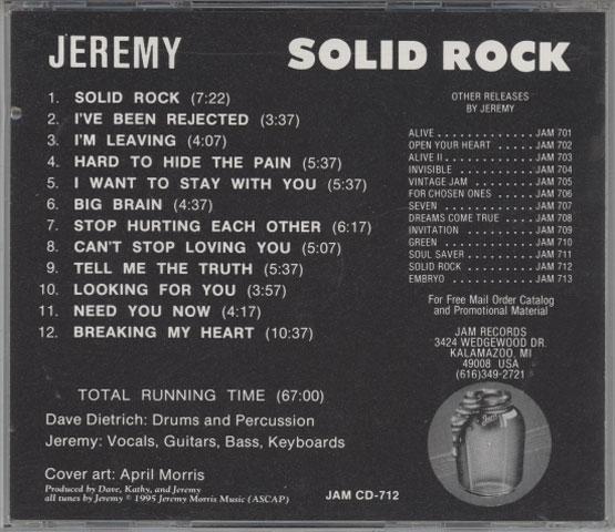 Jeremy – Solid Rock