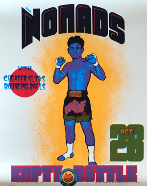 Colin McFrangos' poster for The Nomads