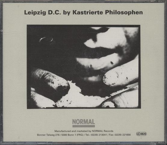 Kastrierte Philosophen – Leipzig D.C.