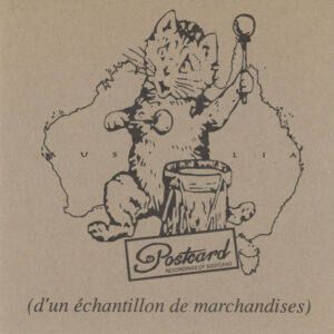 """Various – D'Un Échantillon De Marchandises (7"""")"""