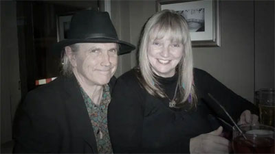 Kimberley Rew and Lee Cave Berry
