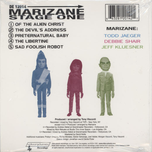 Marizane – Stage One