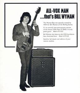 Bill Wyman Vox