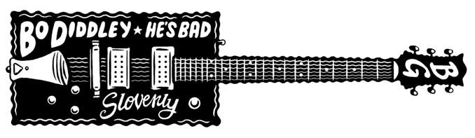 He's Bad! sticker