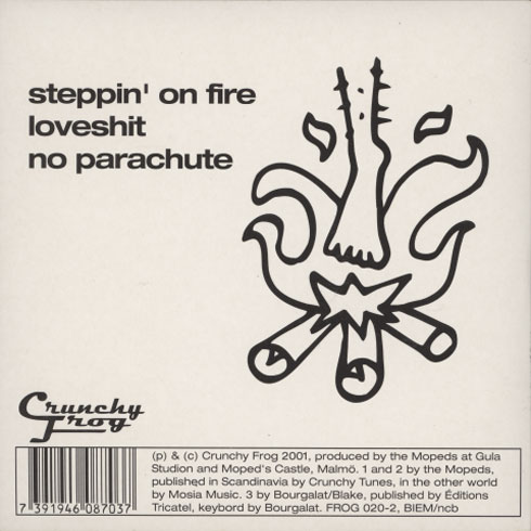 Mopeds – Steppin' On Fire