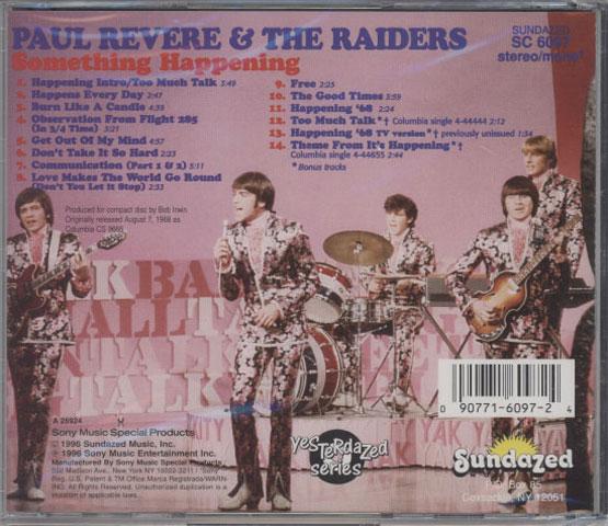 Paul Revere & The Raiders – Something Happening