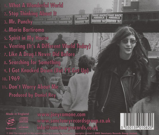 Joey Ramone – Don't Worry About Me