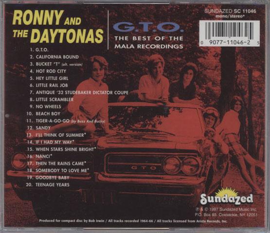 Ronny And The Daytonas – G.T.O.